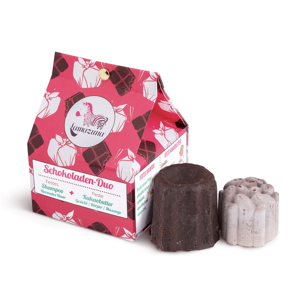 Lamazuna Schokoladen-Duo Zero Waste Geschenk Set