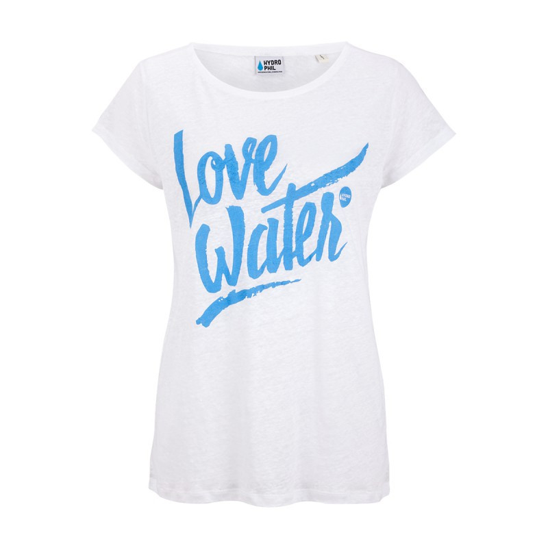 Love Water Shirt linen - white