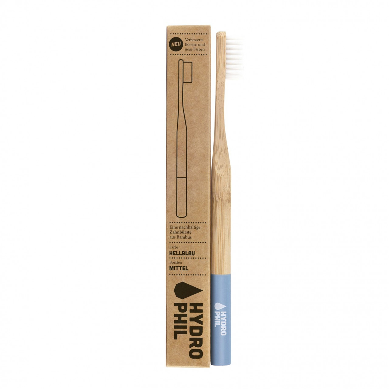 Sustainable toothbrush - light blue