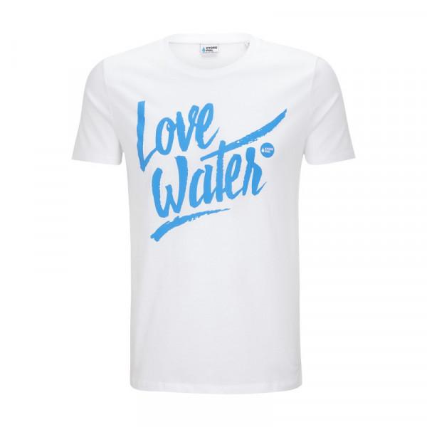 Love Water Shirt – weiss
