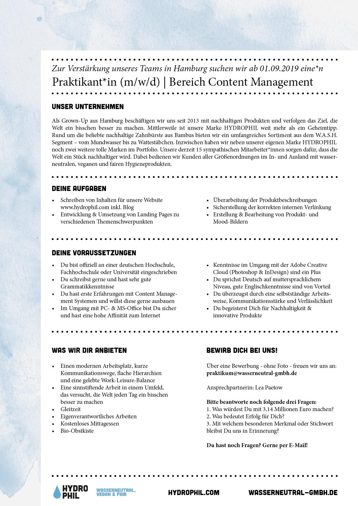 HYD_Praktikum_Contentmanagement_07-2019