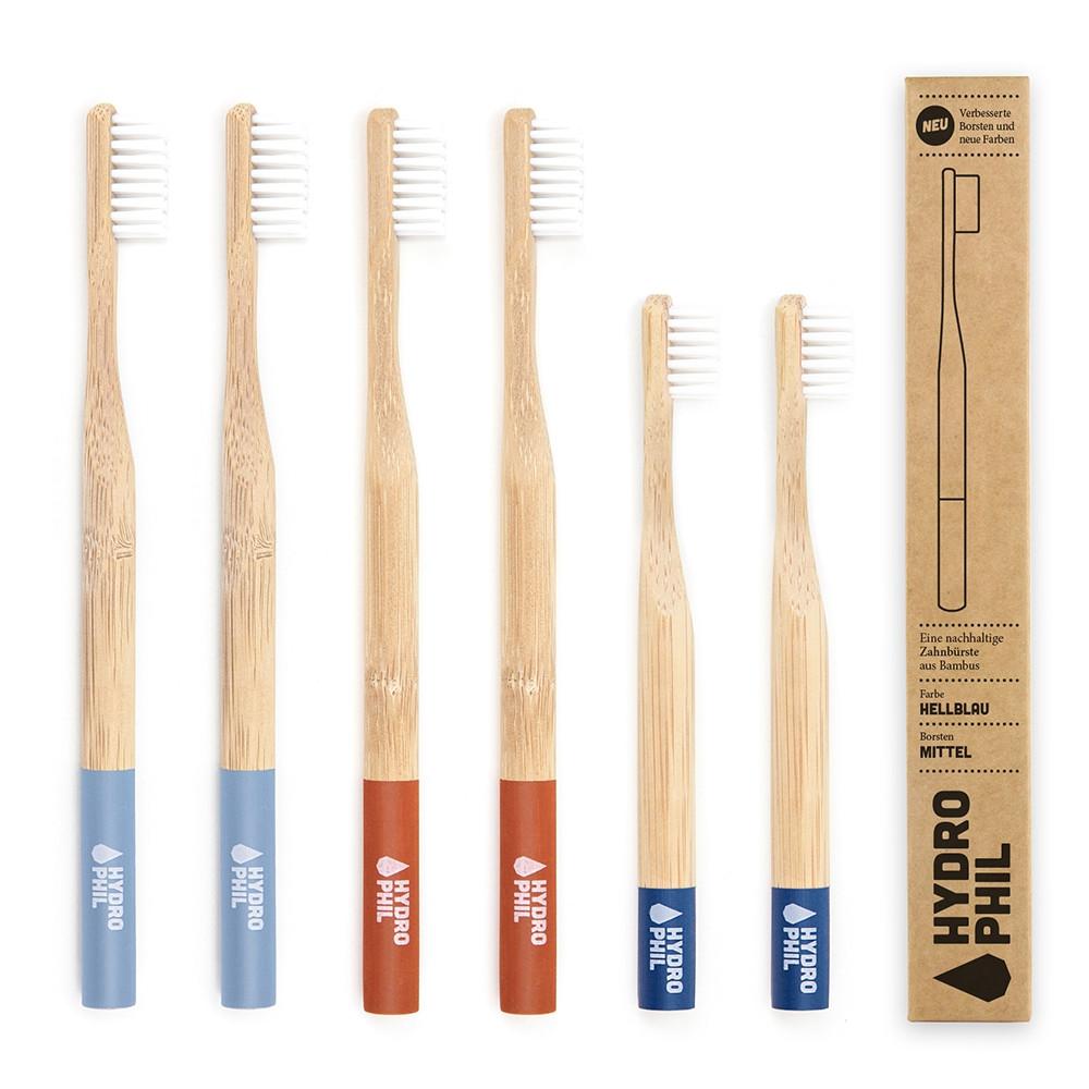 Nachhaltige Zahnbürste Family Pack