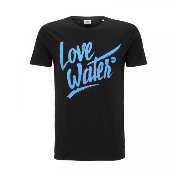 Love Water Shirt – schwarz