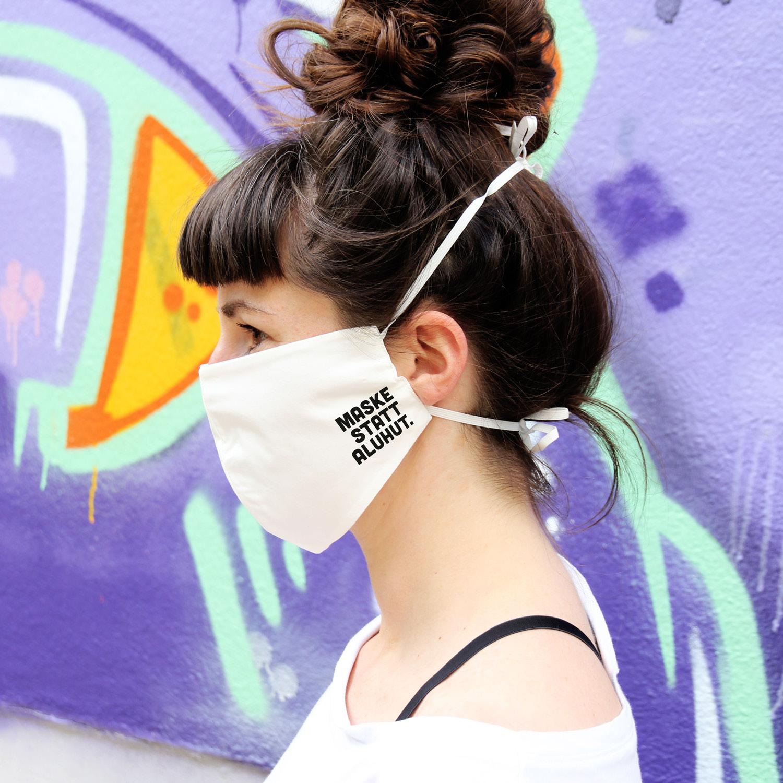 Deine neue Gesichtsmaske aus Bio-Baumwolle!