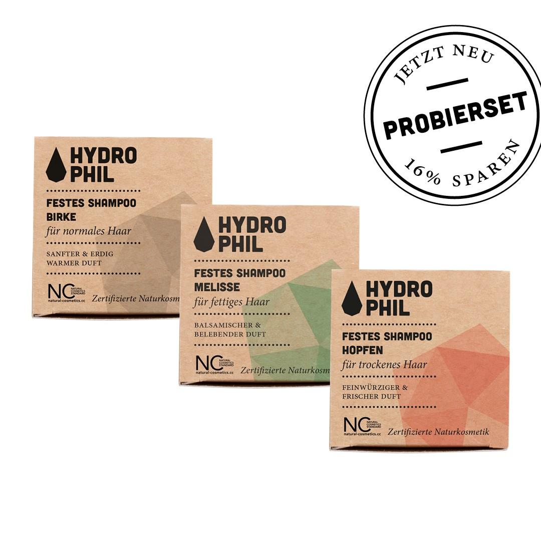 Probierset Feste Shampoos Hero Packaging