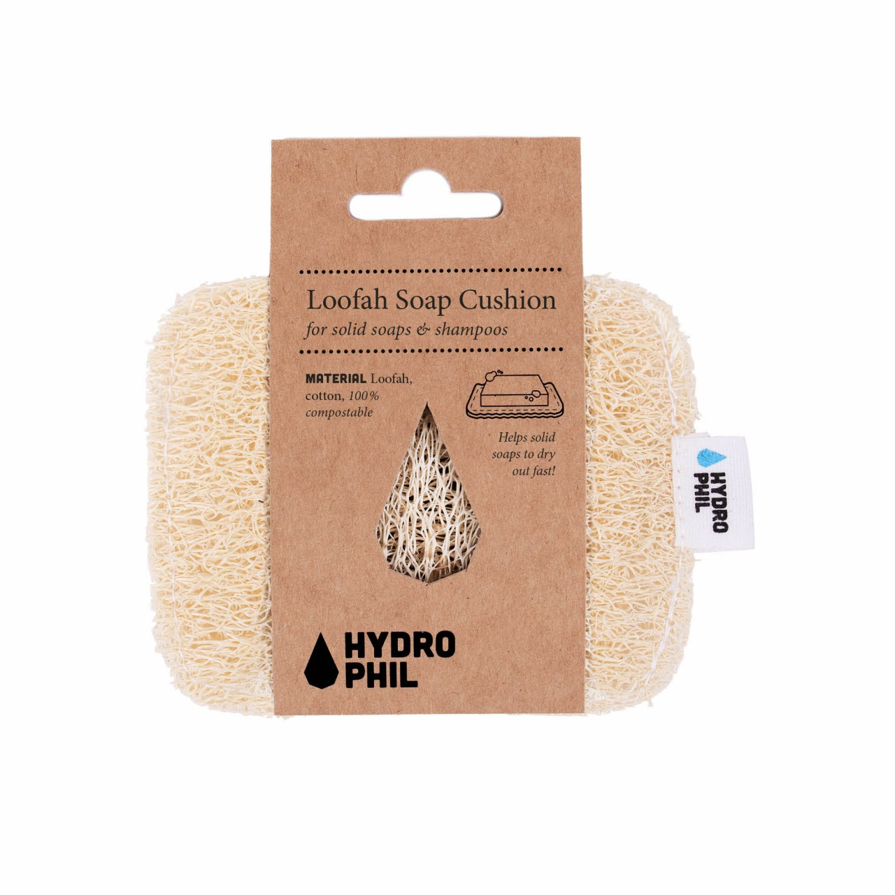 HYDROPHIL Loofah Soap Cushion 1