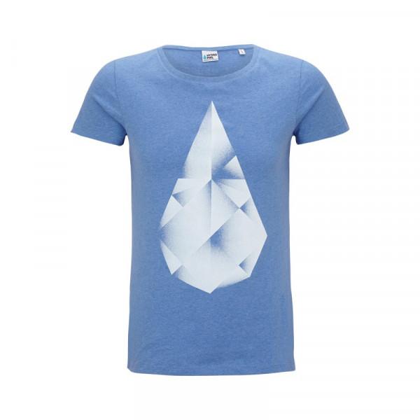 HYDROPHIL Shirt Frauen – blau