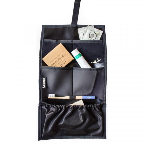 Upcycling Reise- & Kulturtasche - ohne Produkte