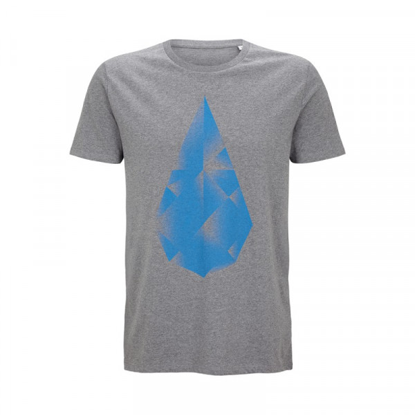 HYDROPHIL Shirt Männer – grau