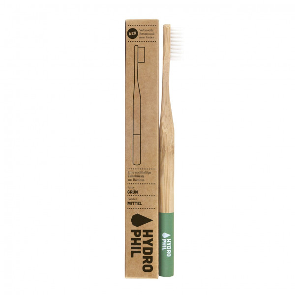 Sustainable toothbrush - green